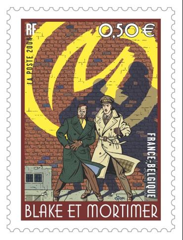 Le duo d'enquêteurs : Blake & Mortimer